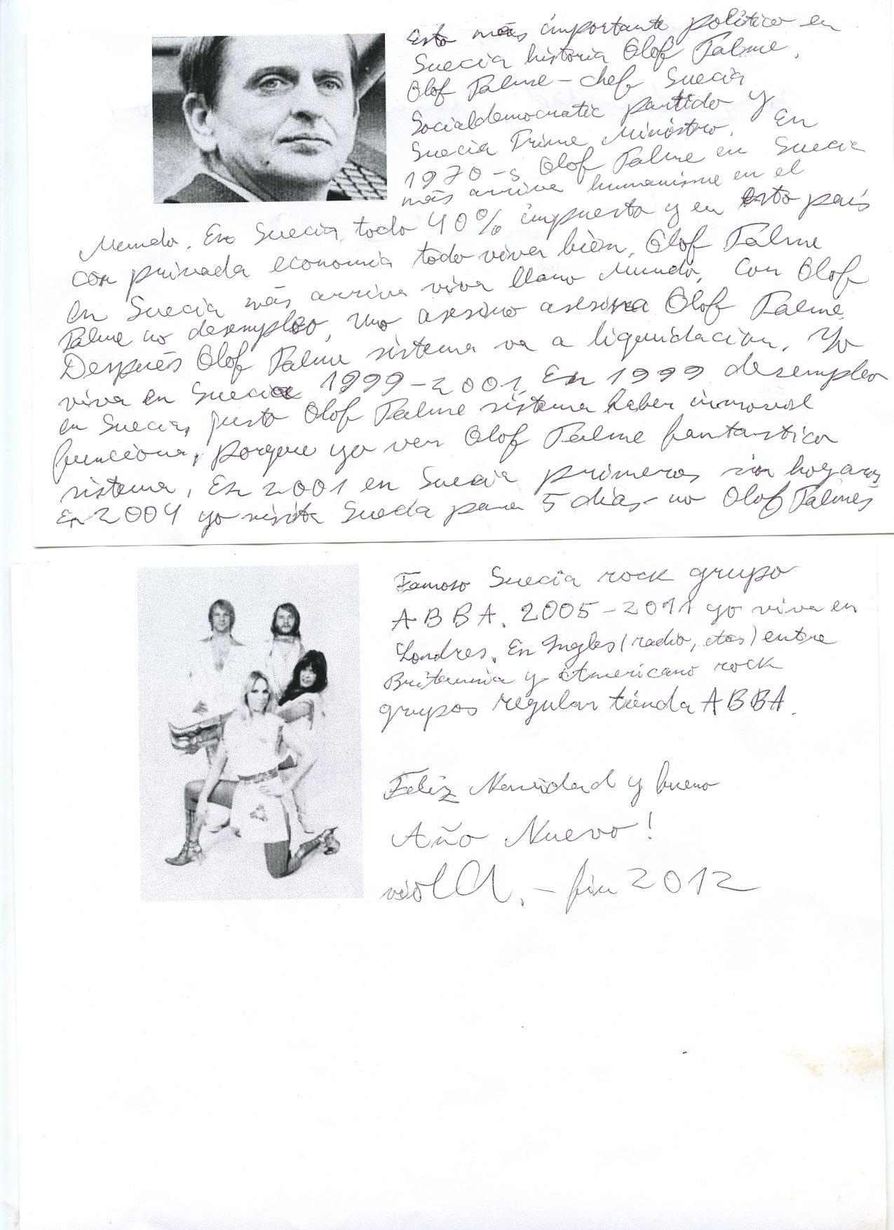 Pintura Acrílica sobre lino, 115x 115 cm12 hojas A4 con textos e imágenes realizadas por Viola Saulitre∙ Video .mov 720x576 duración 7'51 minutos